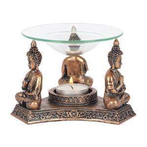 Bilde av Aromalampe - Bronze Buddha